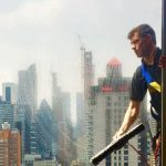 Downtown, New York - Window Cleaning